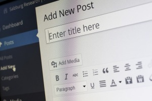Blogging is easy. Sites such as WordPress offer easy to follow steps.